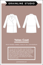 Load image into Gallery viewer, YATES COAT - PAPER PATTERN