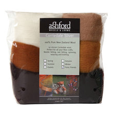 Load image into Gallery viewer, Needle Felt Kit - Ashford Dyed Fibre - Furry Friends