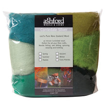 Load image into Gallery viewer, Needle Felt Kit - Ashford Dyed Fibre - Summer