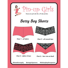 Load image into Gallery viewer, BETTY BOY SHORTS - PAPER PATTERN