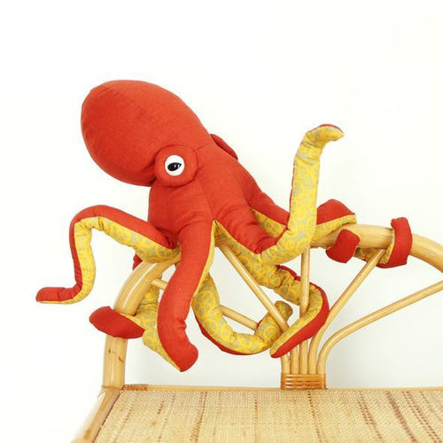 WHALE or OCTOPUS Stuffy Making - Workshop