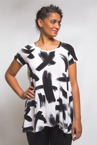 EBONY T-SHIRT & KNIT DRESS - PAPER PATTERN