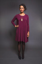 Load image into Gallery viewer, EBONY T-SHIRT & KNIT DRESS - PAPER PATTERN