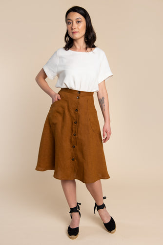 FIORE SKIRT PATTERN by Closet Core - Paper Pattern