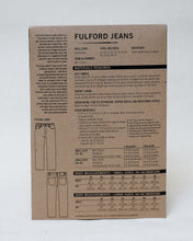 Load image into Gallery viewer, FULFORD JEANS - PAPER PATTERN
