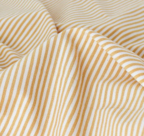BAMBOO / ORGANIC COTTON JERSEY STRIPE