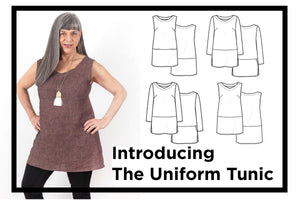 THE UNIFORM TUNIC - PAPER PATTERN