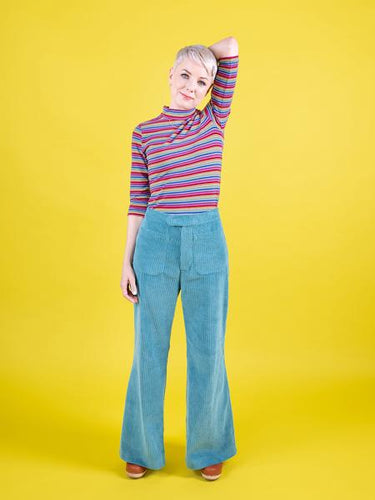 Jessa Trousers & Shorts by Tilly And The Buttons - PAPER PATTERN