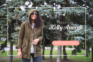 KELLY ANORAK JACKET - PAPER PATTERN
