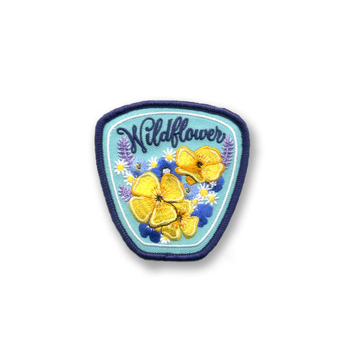 WILDFLOWER - AQUA PATCH