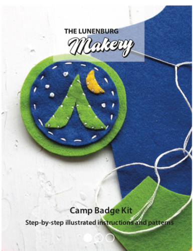 Camp Badges D.I.Y. Felt Hand Sewing Kit