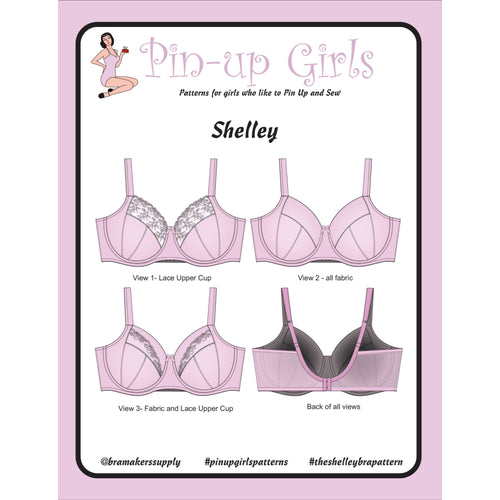SHELLEY FULL BAND BRA - PAPER PATTERN