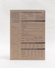 Load image into Gallery viewer, STRATHCONA HENLEY - PAPER PATTERN