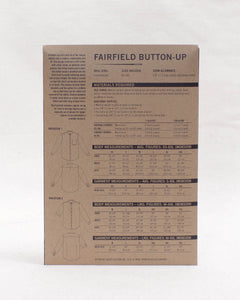 FAIRFIELD BUTTON-UP - PAPER PATTERN