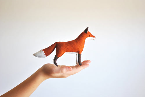 FOX - DIY FELT SEWING KIT