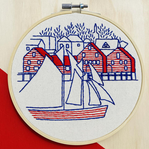 LUNENBURG - COMPLETE EMBROIDERY KIT