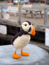 Load image into Gallery viewer, ATLANTIC PUFFIN NEEDLE FELTING DIY KIT