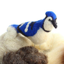 Load image into Gallery viewer, BLUE JAY NEEDLE FELTING DIY KIT