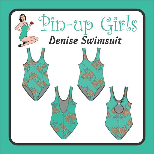 DENISE SWIMSUIT - PAPER PATTERN