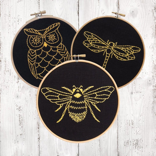 BEE - Complete DIY Embroidery Kit