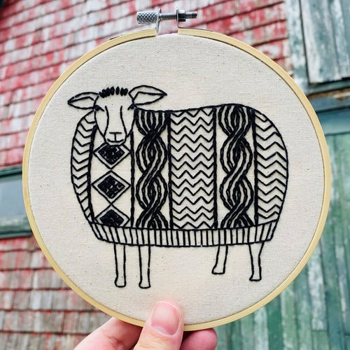 NEW! SWEATER WEATHER - COMPLETE EMBROIDERY KIT
