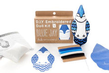 Load image into Gallery viewer, BLUE JAY - EMBROIDERY KIT
