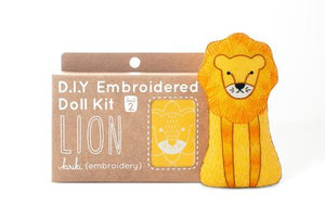 LION - EMBROIDERY KIT