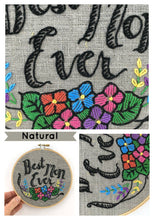 Load image into Gallery viewer, BEST MOM EVER - EMBROIDERY KIT