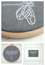 Load image into Gallery viewer, DRAGONFLY - EMBROIDERY KIT