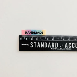 """HANDMADE"" - WOVEN LABELS 8 PACK"