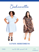 Load image into Gallery viewer, LENOX SHIRTDRESS - PAPER PATTERN