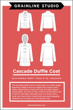 Load image into Gallery viewer, CASCADE DUFFLE COAT - PAPER PATTERN