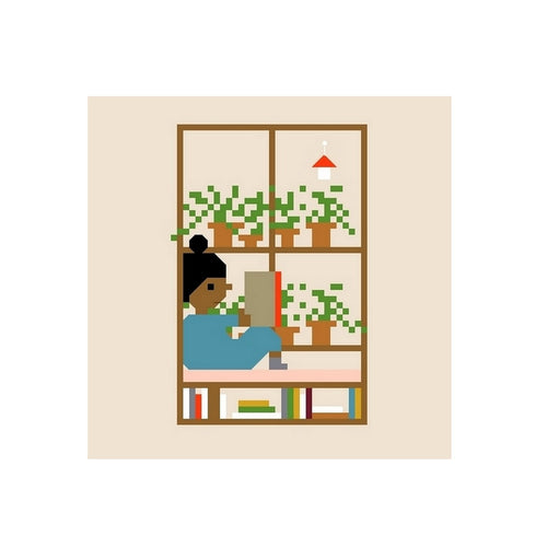 WINDOW SEAT - DIY CROSS STITCH KIT