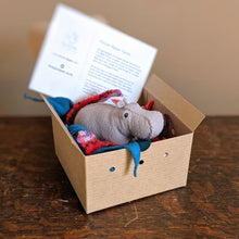 Load image into Gallery viewer, HOUSE HIPPO - SEWING CRAFT KIT