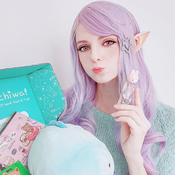 Review from Lolita Dream Purple Wig DB4545