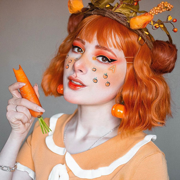 Review from HARAJUKU DIRTY ORANGE CURLY HAIR WIG DB4972