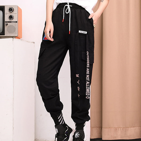 Hip Hop Loose Casual Pants DB6050