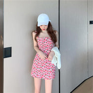 Strawberry strap dress DB6053