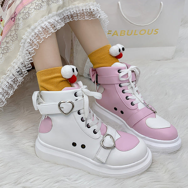Love color matching sneakers DB6119