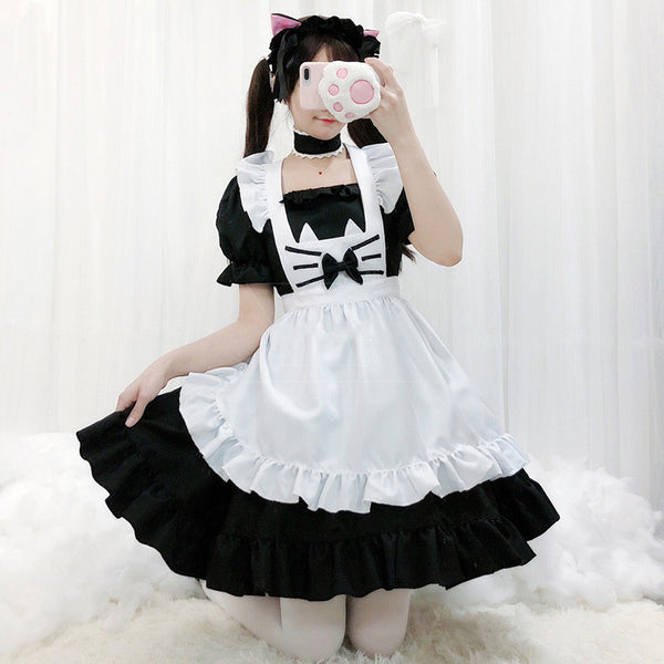 cosplay cat maid dress suit DB6400