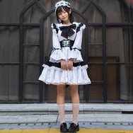 Lolita cute maid outfit DB6451