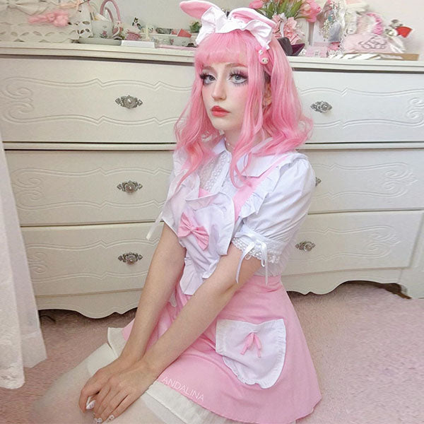 Review from cos bandage maid apron suit DB5345