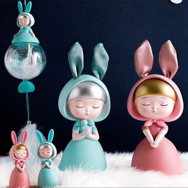 Dream rabbit ornaments DB5712