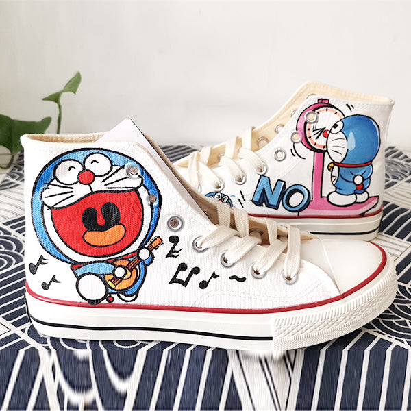 Doraemon hand-painted shoes DB4896