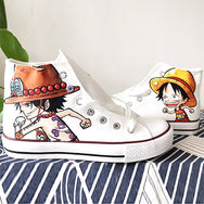One piece hand painted shoes DB4919