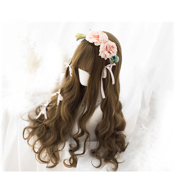 Lolita brown series wig DB4873