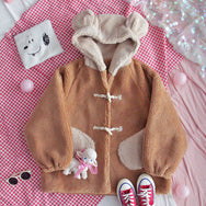 Cute bear ear coat  DB6242