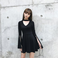 Punk black dress DB2024