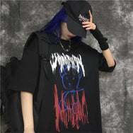 Dark bear graffiti short sleeve T-shirt DB5244