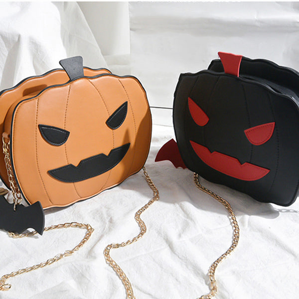 Pumpkin Devil Shoulder Bag DB6044